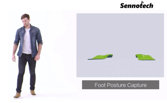 foot posture capture gait analysis